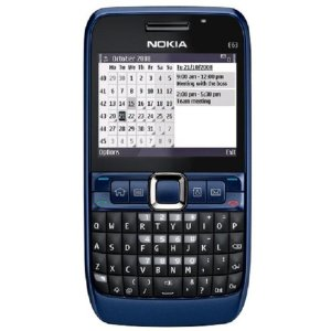 Nokia E63-2 Unlocked 3G Smartphone - USA Version with Full Warranty (Ultramarine Blue)