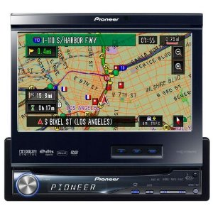 Pioneer AVIC-N5 1-DIN 7 GPS Audio/Video Receiver