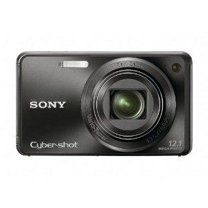 Sony Cybershot DSC-W290 12.1MP Digital Camera w/ 5x IS Zoom (DSC-W290/B, Black)