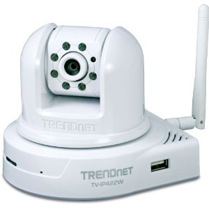 TRENDnet TV-IP422W Wireless Day/Night Pan/Tilt Internet Camera Server with 2-Way Audio