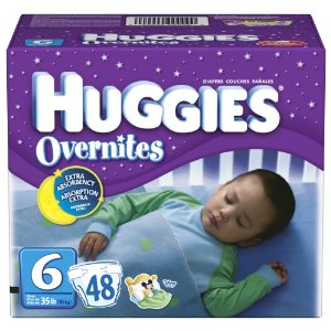 Huggies Overnites Diapers, Size 6, Big Pack, 48-Count Box