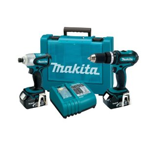 Makita LXT211 LXT Cordless Hammer Driver/Impact Wrench Combo Kit