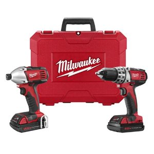 Milwaukee M18 Drill and Impact Driver Combo Kit (2691-22)