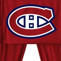 NHL Montreal Canadiens - 5pc Jersey Hockey Curtains + Valance Set