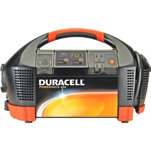 Duracell Powerpack 450 Portable Generator, Charger, Air Compressor