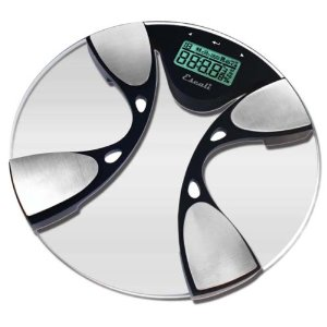 Escali High-Capacity Bathroom Scale with Body Fat/Body Water Monitoring (BFBW200)