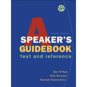 A Speaker's Guidebook (Fourth Edition)