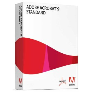 Adobe Acrobat Standard 9 [for Windows]