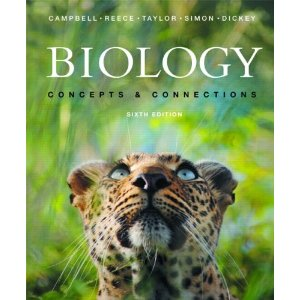 Biology: Concepts and Connections (6th Edition) (MyBiology Series)