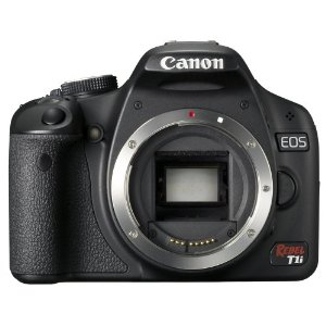 Canon EOS Rebel T1i 15.1MP CMOS Digital SLR Camera (Body Only)