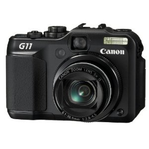Canon PowerShot G11 10MP Digital Camera with 5x Wide Angle IS Zoom