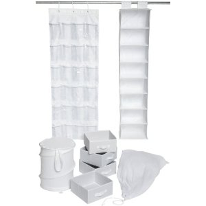 Honey-Can-Do Organization Kit for Home or Dorm (BTS-01584)