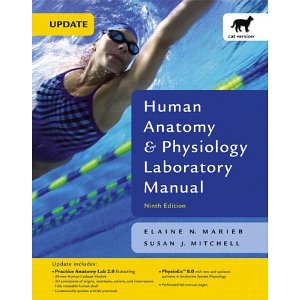 Human Anatomy & Physiology Laboratory Manual, Cat Version,  Update (9th Edition)