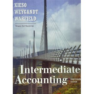 Intermediate Accounting (13th Edition)