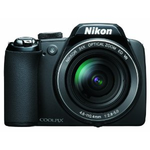 Nikon Coolpix P90 12.1MP Digital Camera with 24x Wide Angle Optical Vibration Reduction
