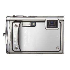 Olympus Stylus Tough-8000 12MP Digital Camera with 3.6x Wide-Angle IS Zoom (Silver)