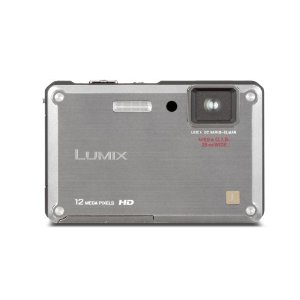 Panasonic Lumix DMC-TS1 12MP Tough Waterproof Camera w/ 4.6x Wide-Angle MEGA IS Zoom (Silver)