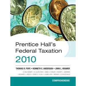 Prentice Hall's Federal Taxation 2010: Comprehensive (23rd Edition)
