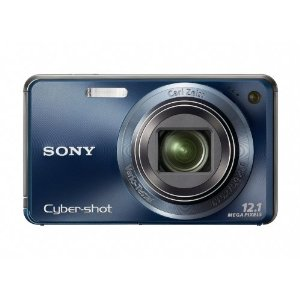 Sony Cyber-shot DSC-W290 12 MP Digital Camera with 5x Optical IS Zoom (Dark Blue)