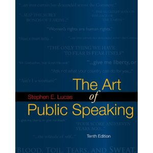 The Art of Public Speaking with Connect Lucas (10th Edition)