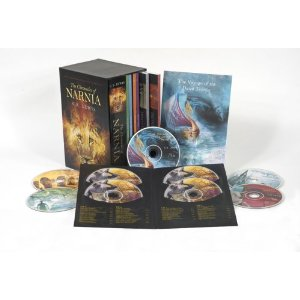 The Chronicles of Narnia Book & Audio Box Set