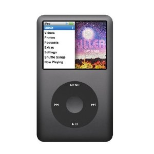 Apple iPod classic 160GB (7th Generation) MC297LL/A (Black)