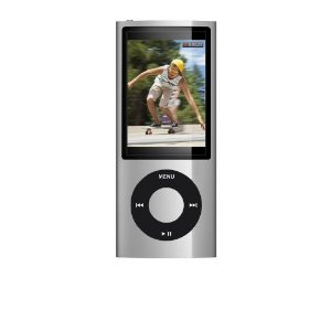 Apple iPod nano 8GB (5th Generation) MC027LL/A (Silver)