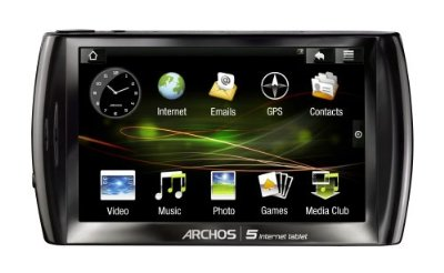 Archos 5 500GB Internet Tablet with Android Operating System (501333)