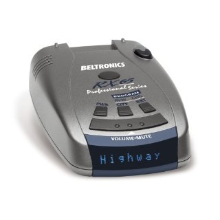 Beltronics RX65 Professional Series Radar (Blue Display)