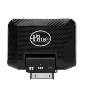 Blue Mikey iPod Microphone Recorder
