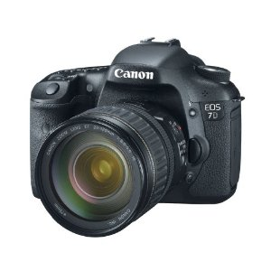 Canon EOS 7D 18MP CMOS Digital SLR Camera with 28-135mm f/3.5-5.6 IS USM Zoom Lens
