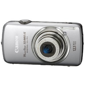 Canon PowerShot SD980 IS Digital ELPH 12.1MP Digital Camera w/ 5x Ultra Wide Angle Optical IS Zoom (Silver)