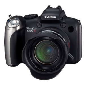 Canon PowerShot SX20IS 12.1MP Digital Camera with 20x Wide Angle IS Zoom
