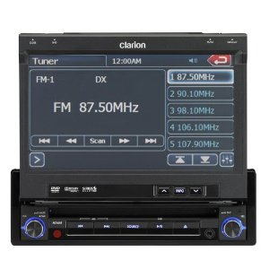 Clarion NZ409 7 1-DIN Touchscreen GPS Mulitmedia Station