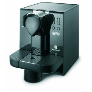 DeLonghi Nespresso Lattissima Single-Serve Espresso Machine (EN670.B)