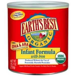 Earth's Best Organic Infant Formula with Iron (730 grams)