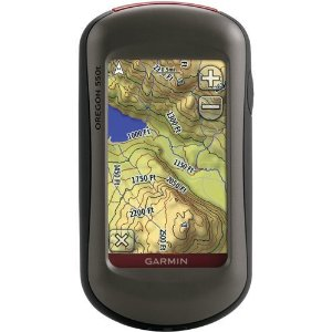 Garmin Oregon 550T Outdoor GPS with 3.2MP Camera and Pre-Loaded USA Topo Maps (010-00697-11)
