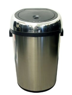 iTouchless NX Stainless Steel Touchless Trashcan 23 Gallon (87 Liter)
