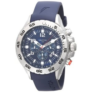 Nautica Men's NST Chronograph Watch (Blue) #N14555G