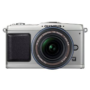 Olympus PEN E-P1 12.3 MP Micro Four Thirds Interchangeable Lens Digital Camera with 14-42mm f/3.5-5.6 Zuiko Digital Zoom Lens