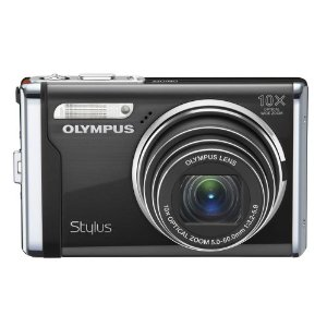 Olympus Stylus 9000 12 MP Digital Camera with 10x Wide Angle Optical Dual Image Stabilized Zoom and 2.7-Inch LCD