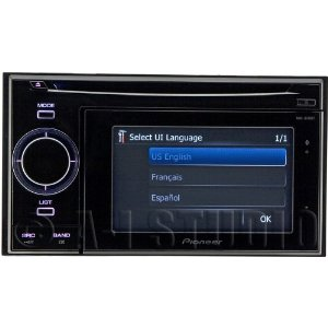 Pioneer AVIC-U310BT 4.3 In-Dash Navigation Receiver with CD Player and Bluetooth