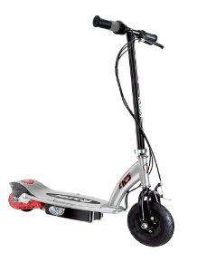 Razor E125 Electric Scooter (Ball Burnished Silver/Black)