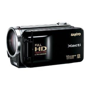 Sanyo Xacti VPC-FH1 Full HD 1080p Camcorder w/ 16x Zoom