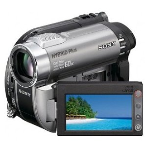 Sony DCR-DVD850 Handycam DVD Hybrid Plus Camcorder with 60X Optical Zoom (Silver)
