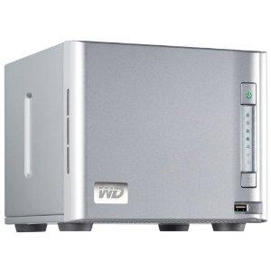 WD ShareSpace 4TB 4-Bay Gigabit Ethernet Network Attached Storage with RAID 5 (WDA4NC40000N)