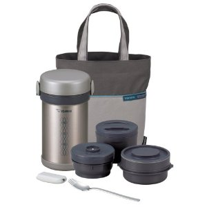 Zojirushi Ms. Bento Stainless Steel Vacuum Lunch Jar Lunch Box