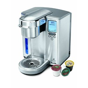 Breville BKC700XL Single-Serve K-Cup Coffee Maker for Hot or Iced Coffee