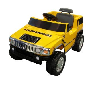Hummer H2 Electric 6V Ride-on (Yellow)