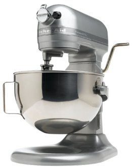 KitchenAid KV25GOX Professional 5 Plus 5Qt. Stand Mixer (KV25GOXMC, Metallic Chrome)